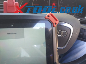 Xtool PAD2 2004 Audi A4 Mileage in cluster change
