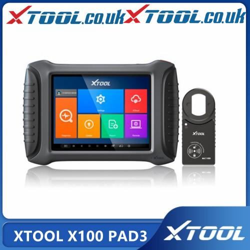 Original XTOOL X100 PAD3 Than OBDSTAR X300 Pro3 DP
