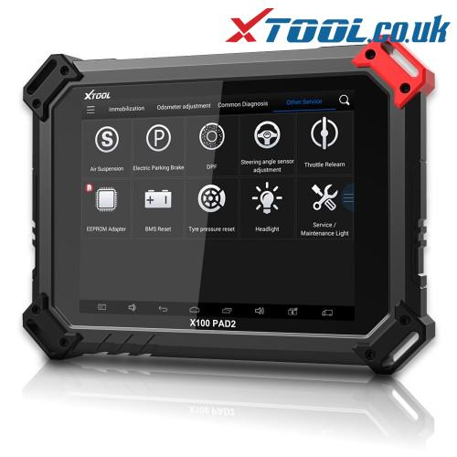 XTOOL X100 PAD2 SKODA Key Programming Function Overview
