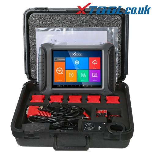 XTOOL X100 PAD3 BWM Key Programming Function Overview
