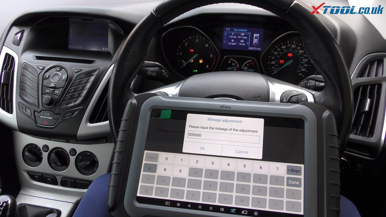 XTOOL X100 PAD3 Three-minute Ford Vehicle Mileage Correction & Adjustment