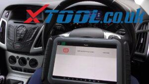 XTOOL X100 PAD3 Three-minute Ford Vehicle Mileage Correction & Adjustment