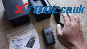 XTOOL Anyscan A30 Code Reader Mercedes-Benz C250 Quick Scan