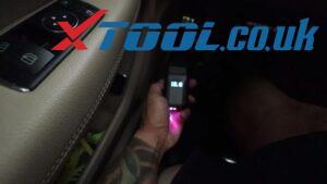 XTOOL Anyscan A30 Code Reader Mercedes-Benz C250 Quick Scan