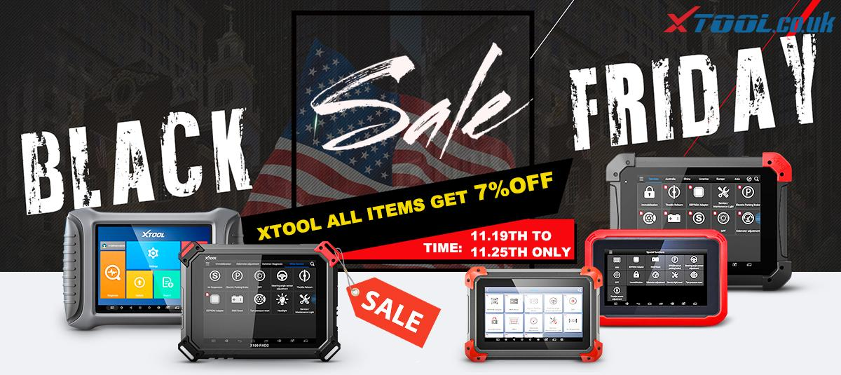 XTOOL Black Friday Promotion Season is Coming