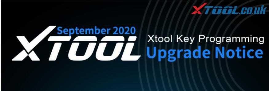 XTOOL Update Notice