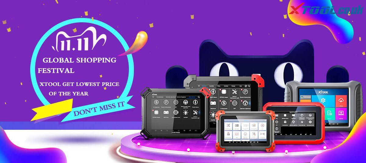 "XTOOL Professional Products ""11.11"" Global Shopping Festival"