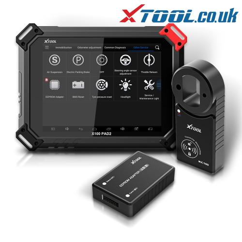 XTOOL X100 PAD2 Pro KIA Key Programming Function Overview