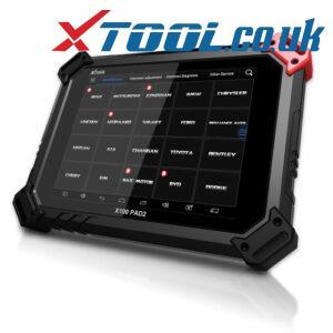 XTOOL X100 PAD2 Pro LEXUS Key Programming Function Overview