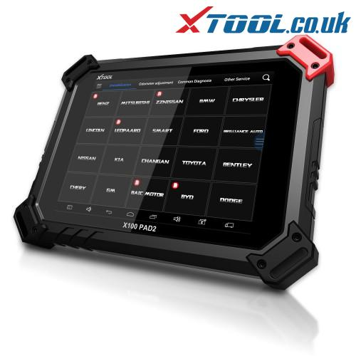 XTOOL X100 PAD2 Pro LEXUS Key Programming Function Overview