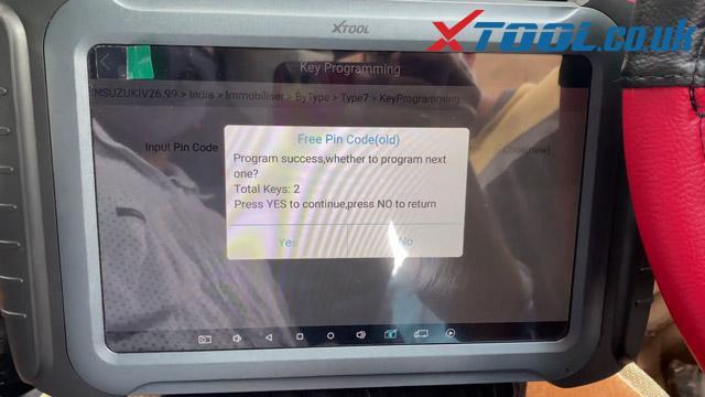 How To Program Suzuki Spresso 2020 Key Xpad Elite 22