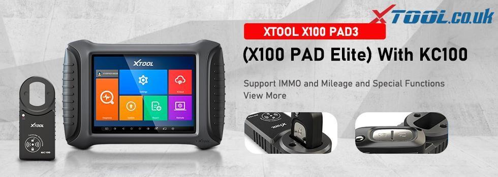 XTOOL X100 PAD3