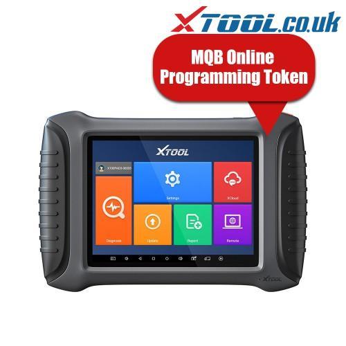 XTOOL MQB V-A-G Access Online Programming Code