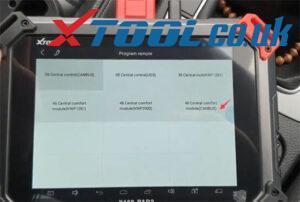Xtool X100 Pad2 Pro Vw Car List 12