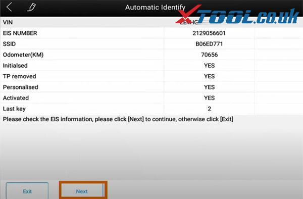 Xtool X100 Pad3 Benz Immo Car List 8