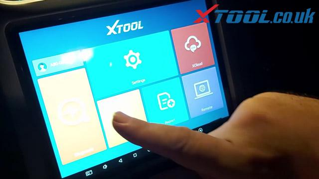 Xtool A80 H6 Jeep Wrangler Mileage Corection Via OBD 02
