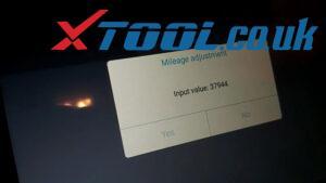 Xtool A80 H6 Jeep Wrangler Mileage Corection Via OBD 09