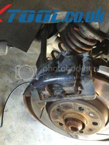 Xtool VAG401 EPB Reset On 2010 Audi A5 13