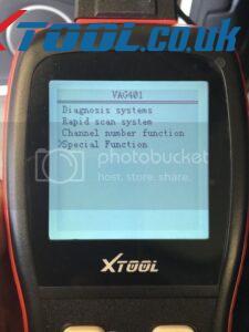 Xtool VAG401 EPB Reset On 2010 Audi A5 2
