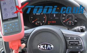 X100 Pro2 Kia Mileage Correction Car List 1