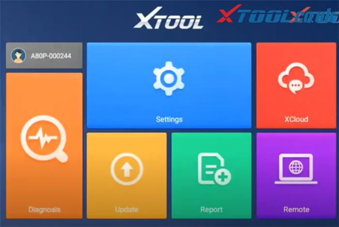 Xtool A80 Pro Software Display 2