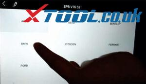 Xtool Ps90 Bmw Epb Reset Car List 3