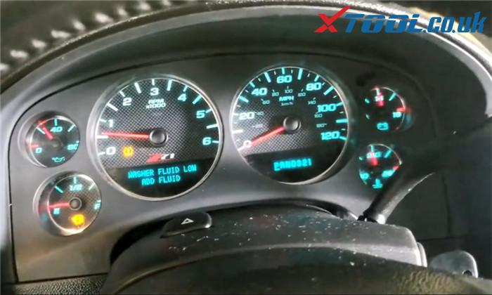 Xtool X100 Pad3 Diagnose 2007 Chevrolet Tahoe 10