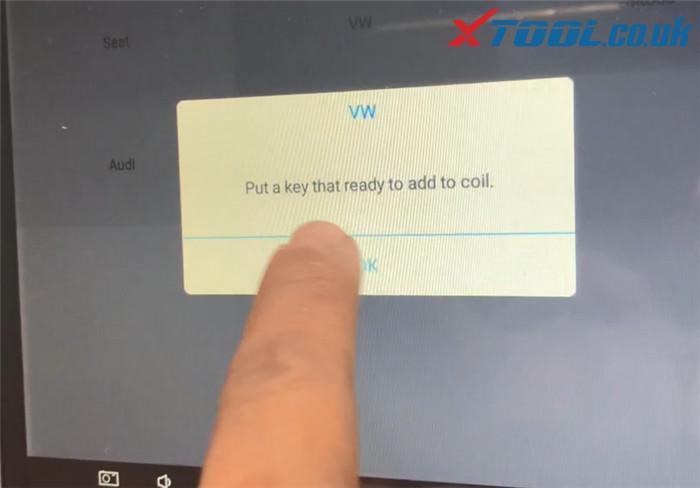 Xtool X100 Pad3 Program Vw Polo Akl 6