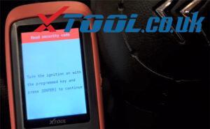 Xtool X100 Pro2 Citroen Key Program Guide 11