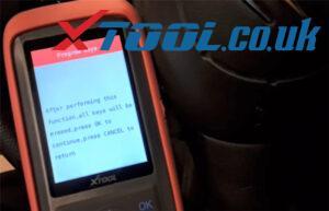Xtool X100 Pro2 Citroen Key Program Guide 7