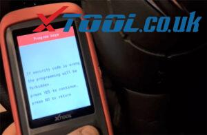 Xtool X100 Pro2 Citroen Key Program Guide 8