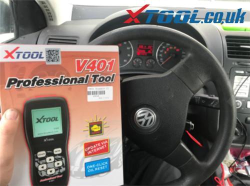 Xtool V401 Reset Airbag Light Vw Review 9