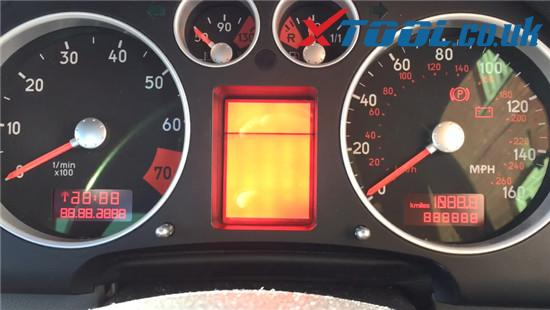 Xtool V401 Test Dashboard Audi Tt Mk1 8
