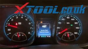 X100 Pad2 2016 Malibu Mileage Correction 1