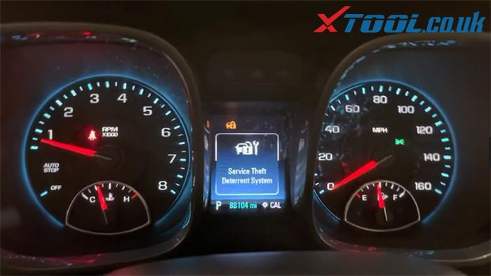 X100 Pad2 2016 Malibu Mileage Correction 1