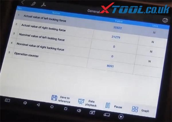 Xtool A80 H6 Diagnose Bmw X3 2015 10
