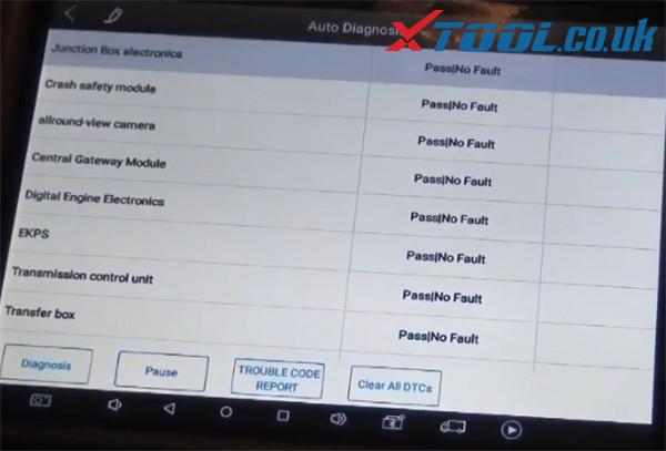 Xtool A80 H6 Diagnose Bmw X3 2015 3