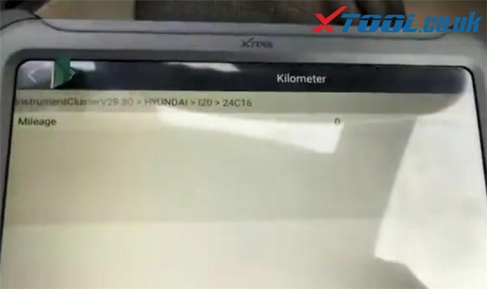 Xtool A80 Pro Change Mileage Hyundai I20 2010 3