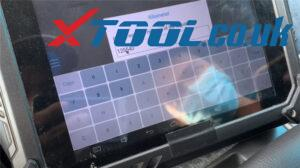 Xtool X100 Pad2 Change Mileage Ford Egde 2013 5