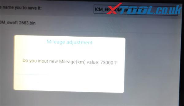 Xtool X100 Pad3 Swift Dometer Correction 8
