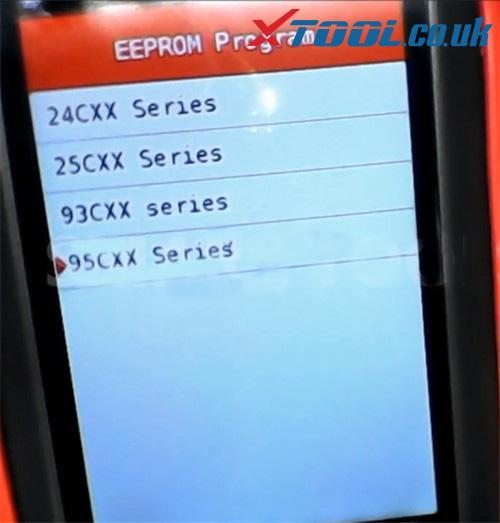Xtool X100 Pro2 Eeprom Adapter User Guide 8