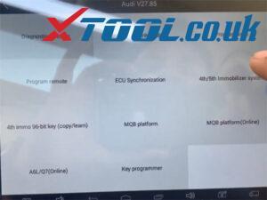 X100 Pad2 Pro Program Audi A6 Id8e 1