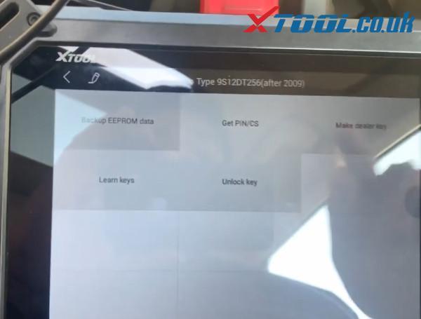 X100 Pad2 Pro Program Audi A6 Id8e 4