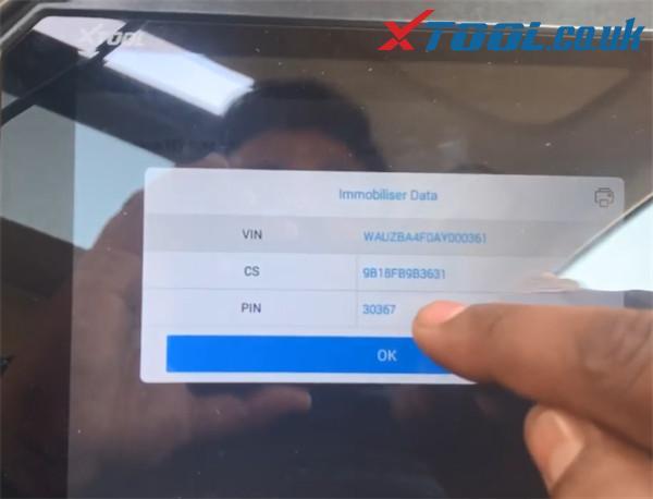 X100 Pad2 Pro Program Audi A6 Id8e 5