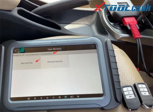 Xtool A80 Pro Program Honda City 3
