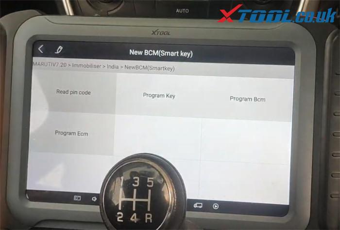 Xtool A80 Pro Program Suzuki Maruti 4