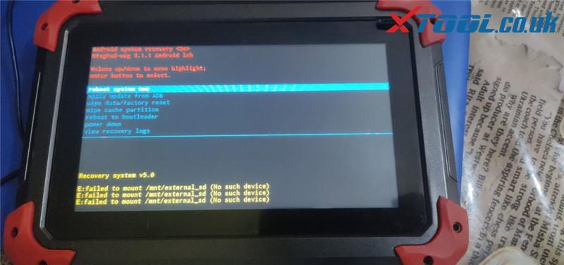 Xtool Tablet File Flash Guide 2