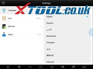 Xtool X100 Pad2 Pro Change Language