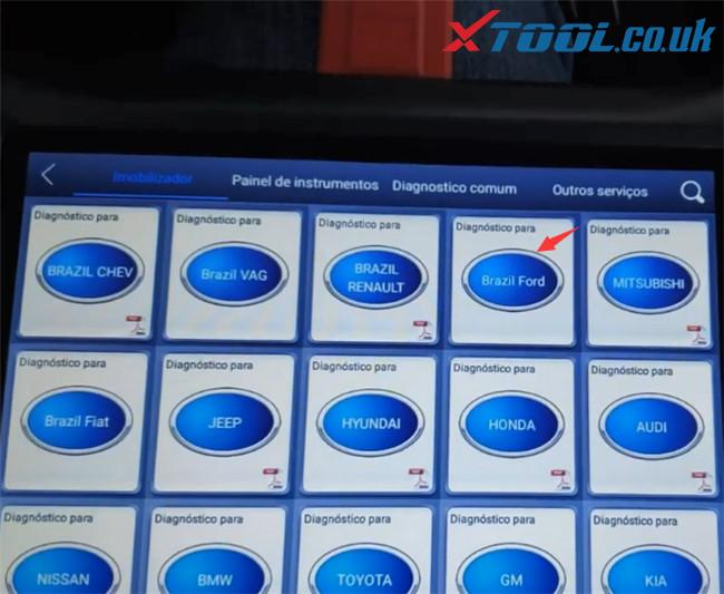 Xtool X100 Pad3 Program Ford Ecosport 2014 3