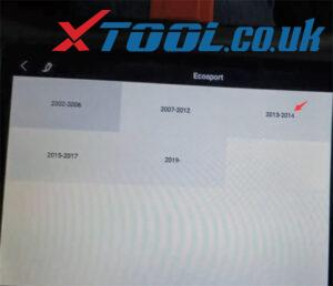 Xtool X100 Pad3 Program Ford Ecosport 2014 7